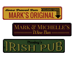 Beer, Bar & Pub Signs