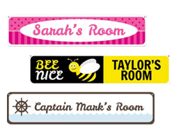 Kid's Room Signs