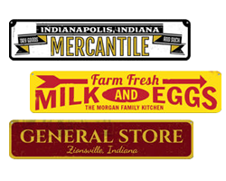 Kitchen & Store Signs